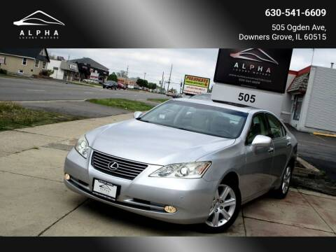2009 Lexus ES 350 for sale at Alpha Luxury Motors in Downers Grove IL