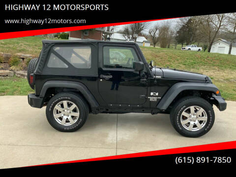 2007 Jeep Wrangler for sale at HIGHWAY 12 MOTORSPORTS in Nashville TN
