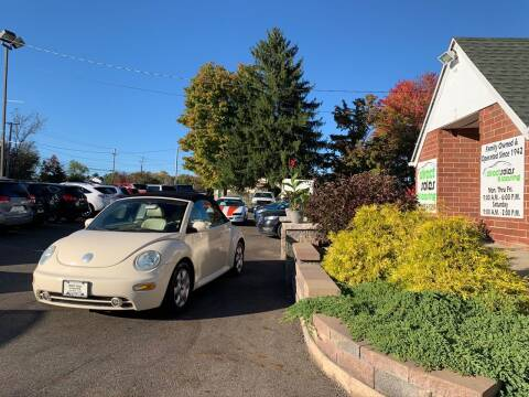 2003 Volkswagen New Beetle Convertible for sale at Direct Sales & Leasing in Youngstown OH