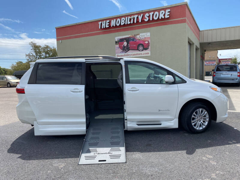 2016 Toyota Sienna for sale at The Mobility Van Store in Lakeland FL