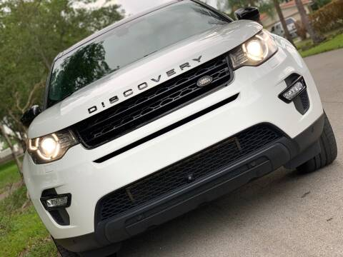 2016 Land Rover Discovery Sport for sale at HIGH PERFORMANCE MOTORS in Hollywood FL