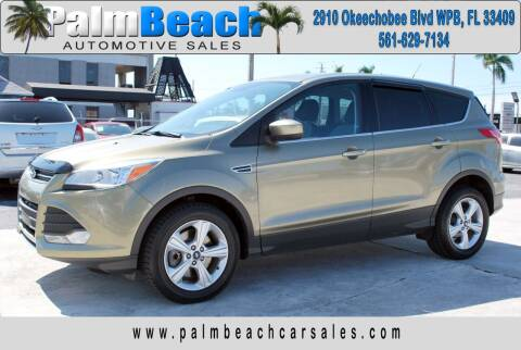 2013 Ford Escape for sale at Palm Beach Automotive Sales in West Palm Beach FL