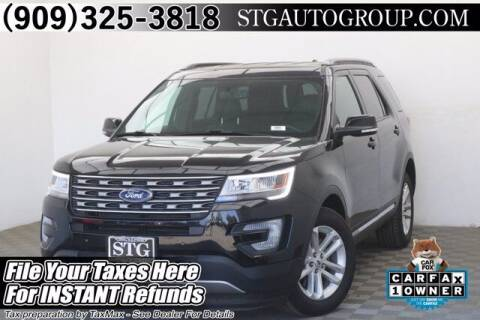 2017 Ford Explorer for sale at STG Auto Group in Montclair CA