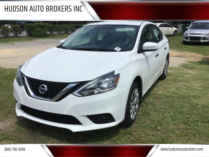 2016 Nissan Sentra for sale at HUDSON AUTO BROKERS INC in Walterboro SC