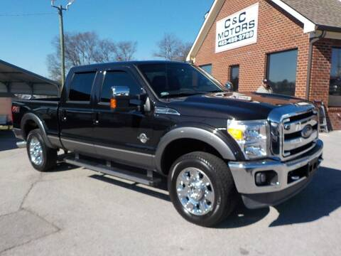 2014 Ford F-250 Super Duty for sale at C & C MOTORS in Chattanooga TN