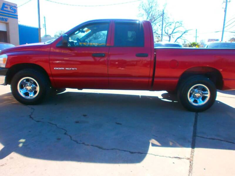 2007 Dodge Ram Pickup 1500 for sale at Under Priced Auto Sales in Houston TX