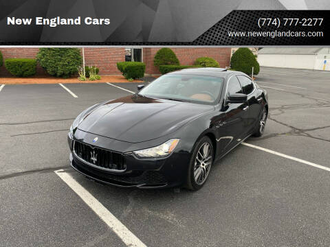 2014 Maserati Ghibli for sale at New England Cars in Attleboro MA