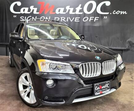 2011 BMW X3 for sale at CarMart OC in Costa Mesa, Orange County CA