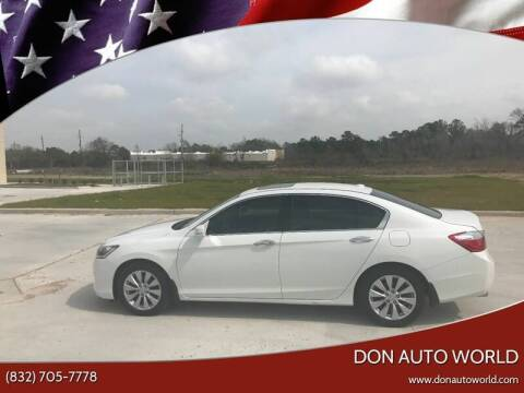 2014 Honda Accord for sale at Don Auto World in Houston TX