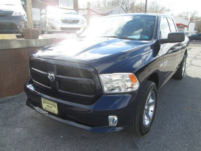 2017 RAM Ram Pickup 1500 for sale at WORKMAN AUTO INC in Pleasant Gap PA