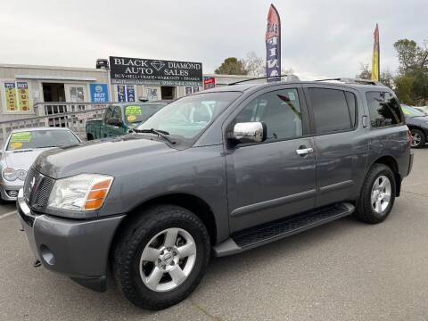 2006 Nissan Armada for sale at Black Diamond Auto Sales Inc. in Rancho Cordova CA