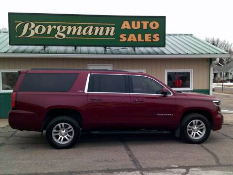 2016 Chevrolet Suburban for sale at Borgmann Auto Sales in Norfolk NE