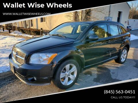 2012 Dodge Caliber for sale at Wallet Wise Wheels in Montgomery NY
