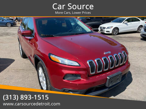 2015 Jeep Cherokee for sale at Car Source in Detroit MI