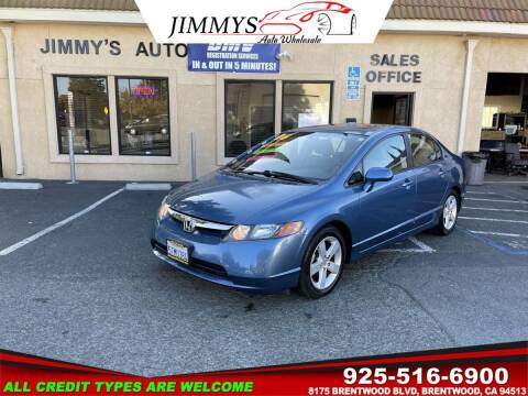 2006 Honda Civic for sale at JIMMY'S AUTO WHOLESALE in Brentwood CA