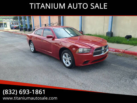 2011 Dodge Charger for sale at TITANIUM AUTO SALE in Houston TX