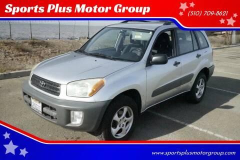 2001 Toyota RAV4 for sale at Sports Plus Motor Group LLC in Sunnyvale CA
