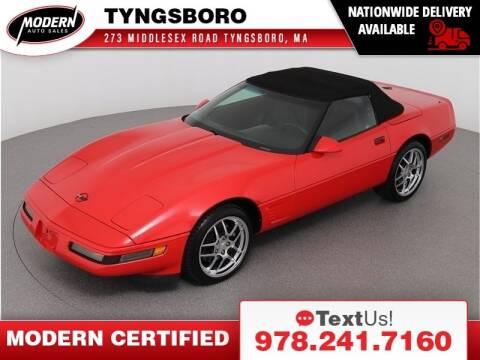 1995 Chevrolet Corvette for sale at Modern Auto Sales in Tyngsboro MA
