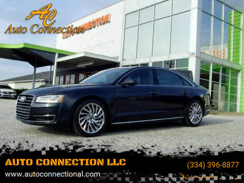 2015 Audi A8 L for sale at AUTO CONNECTION LLC in Montgomery AL