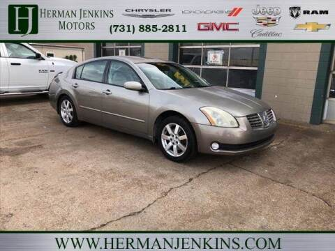 2006 Nissan Maxima for sale at Herman Jenkins Used Cars in Union City TN