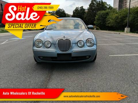 2005 Jaguar S-Type for sale at Auto Wholesalers Of Rockville in Rockville MD