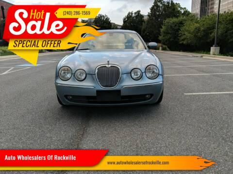 2005 Jaguar S-Type for sale at Auto Wholesalers Of Rockville in Rockville MD