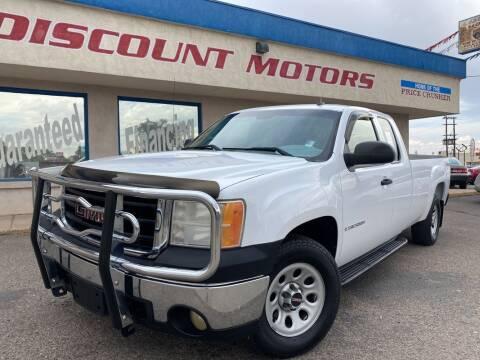 2007 GMC Sierra 1500 for sale at Discount Motors in Pueblo CO