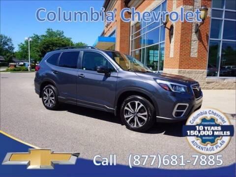 2020 Subaru Forester for sale at COLUMBIA CHEVROLET in Cincinnati OH