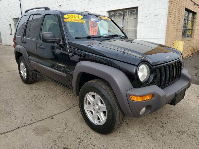 2004 Jeep Liberty for sale at PARK AUTO SALES in Roselle NJ
