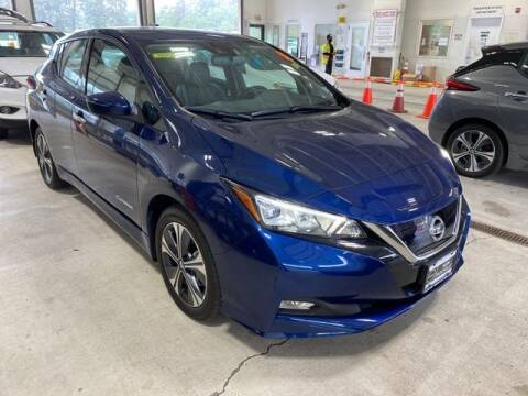 2019 Nissan LEAF for sale at Father and Son Auto Lynbrook in Lynbrook NY