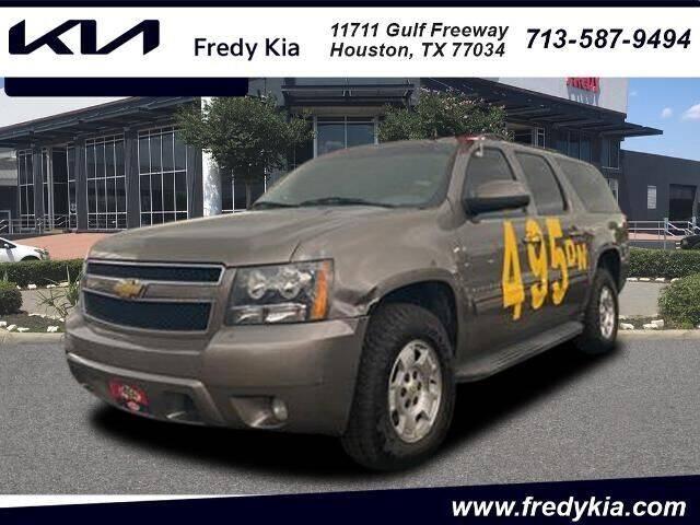 2012 Chevrolet Suburban for sale at FREDY KIA USED CARS in Houston TX