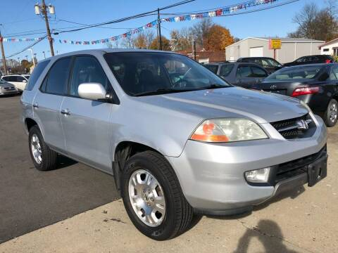 2001 Acura MDX for sale at Wise Investments Auto Sales in Sellersburg IN