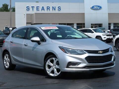 2018 Chevrolet Cruze for sale at Stearns Ford in Burlington NC