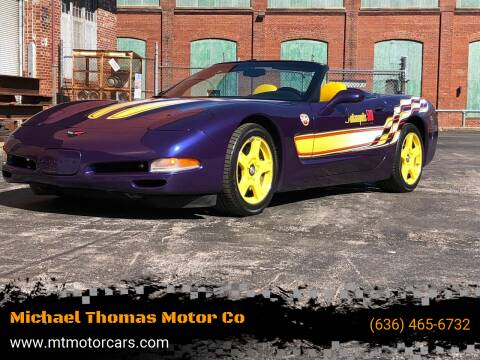 1998 Chevrolet Corvette for sale at Michael Thomas Motor Co in Saint Charles MO