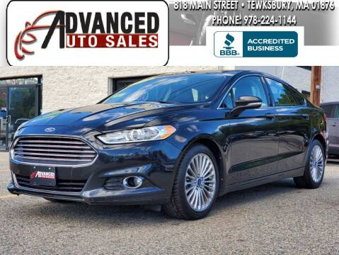 2014 Ford Fusion for sale at Advanced Auto Sales in Tewksbury MA