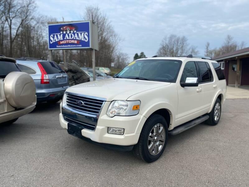 2009 Ford Explorer for sale at Sam Adams Motors in Cedar Springs MI