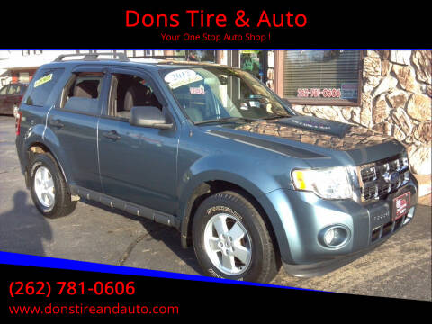 2012 Ford Escape for sale at Dons Tire & Auto in Butler WI