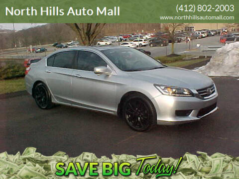 2014 Honda Accord for sale at North Hills Auto Mall in Pittsburgh PA