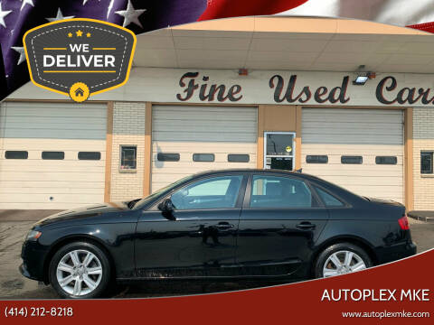 2011 Audi A4 for sale at Autoplex MKE in Milwaukee WI