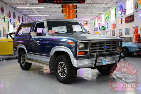 1984 Ford Bronco for sale at Classics and Beyond Auto Gallery in Wayne MI