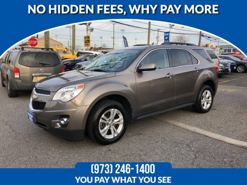 2012 Chevrolet Equinox for sale at Route 46 Auto Sales Inc in Lodi NJ