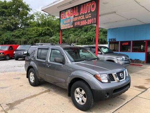 2006 Nissan Pathfinder for sale at Global Auto Sales and Service in Nashville TN
