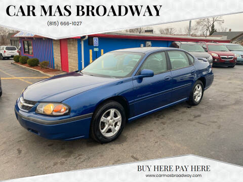 2004 Chevrolet Impala for sale at Car Mas Broadway in Crest Hill IL