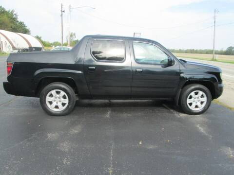 2006 Honda Ridgeline for sale at Knauff & Sons Motor Sales in New Vienna OH