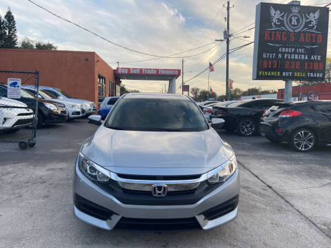 2017 Honda Civic for sale at Kings Auto Group in Tampa FL