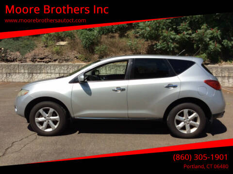 2010 Nissan Murano for sale at Moore Brothers Inc in Portland CT