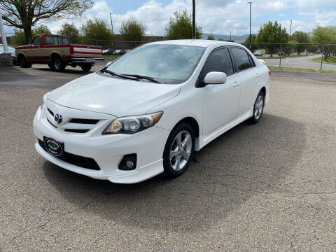 2013 Toyota Corolla for sale at Steve Johnson Auto World in West Jefferson NC