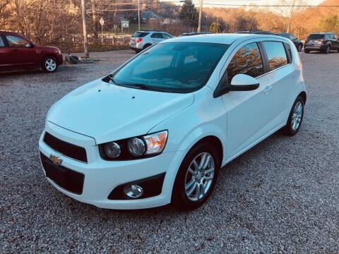 2013 Chevrolet Sonic for sale at R.A. Auto Sales in East Liverpool OH