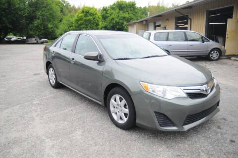 2012 Toyota Camry for sale at RICHARDSON MOTORS USED CARS - Buy Here Pay Here in Anderson SC