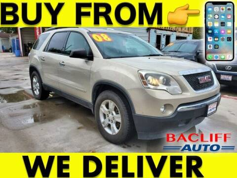 2008 GMC Acadia for sale at Bacliff Auto in Bacliff TX